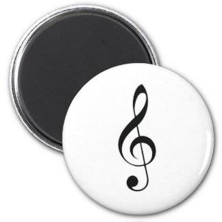 i heart music refrigerator magnet