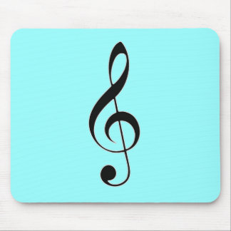 i heart music mouse pad