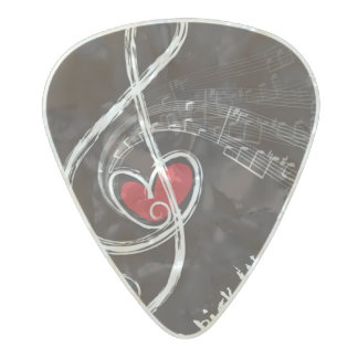 I HEART MUSIC/Professional Custom Guitar Pick
