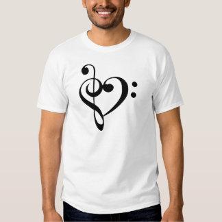 I heart music shirt