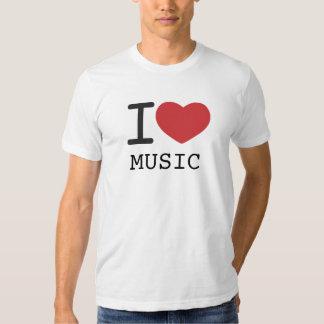 I HEART MUSIC T SHIRT