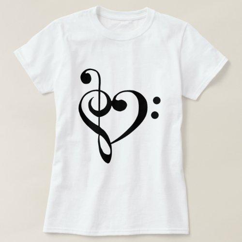 I heart music T_Shirt