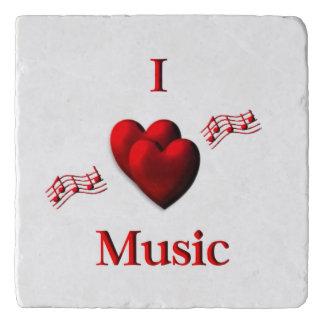I Heart Music Trivet