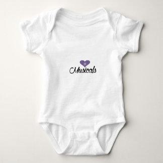 I heart Musicals Baby Bodysuit