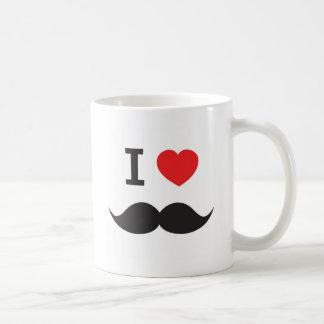 I Heart Mustache Coffee Mug