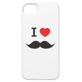 I Heart Mustache iPhone SE/5/5s Case