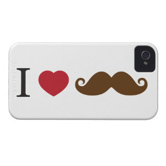 I heart Mustache's iPhone 4 Case