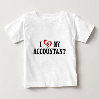 I heart my ACCOUNTANT Baby T-Shirt