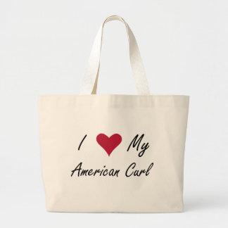 I Heart My American Curl Bags