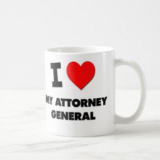 I Heart My Attorney General Classic White Coffee Mug