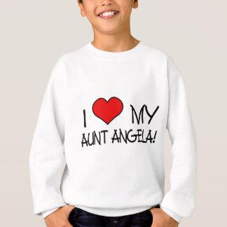 I (heart) my Aunt Angela! Sweatshirt