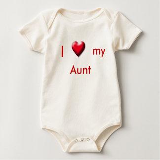 I, heart, my, Aunt Baby Bodysuit
