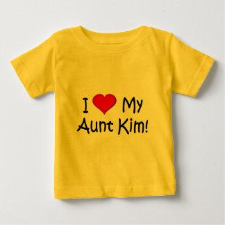 I (heart) my Aunt Kim! Baby T-Shirt