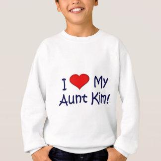 I (heart) my Aunt Kim! Sweatshirt