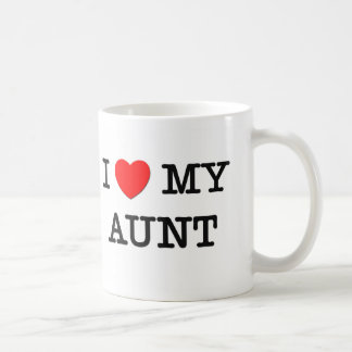 I Heart My AUNT Coffee Mug