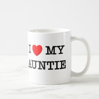 I Heart My AUNTIE Mugs