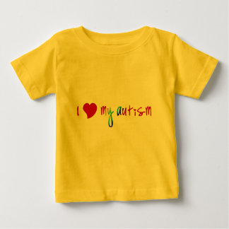 I Heart My Autism Baby T-Shirt