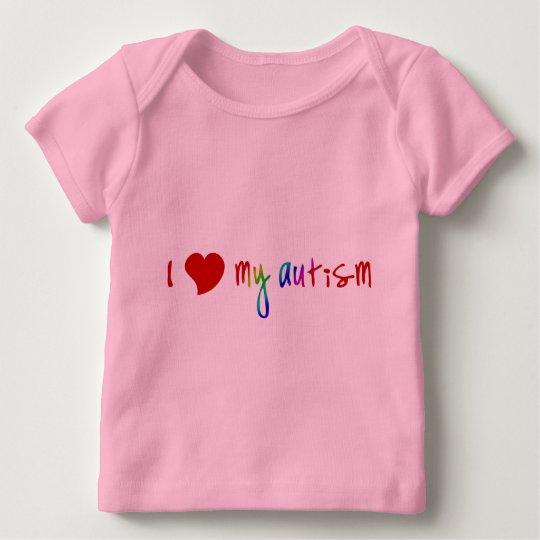 I Heart My Autism Infant Longsleeve Baby T-Shirt