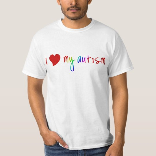 I Heart My Autism Shirts