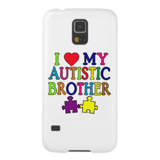 I Heart My Autistic Brother Galaxy S5 Cover