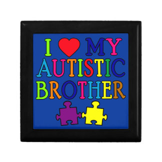 I Heart My Autistic Brother Gift Box