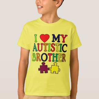 I Heart My Autistic Brother T-Shirt