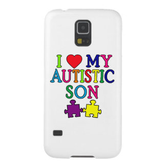 I Heart My Autistic Son Galaxy S5 Covers