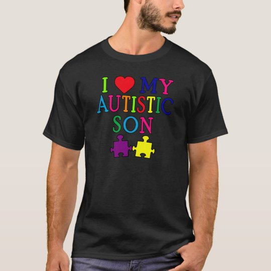 I Heart My Autistic Son T-Shirt
