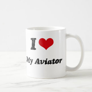 I heart My Aviator Coffee Mug