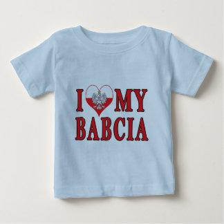 I Heart My Babcia Baby T-Shirt
