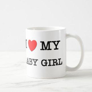 I Heart My BABY GIRL Coffee Mug