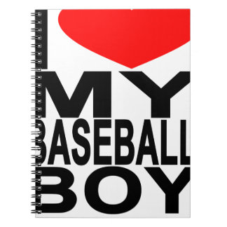 i_heart_my_baseball_boy.png spiral notebook