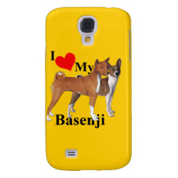 Case-Mate Barely There Samsung Galaxy S4 Case with Basenji Phone Cases design