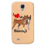 I Heart My Basenji Galaxy S4 Covers