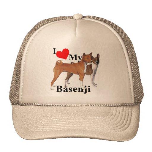I Heart My Basenji Trucker Hat
