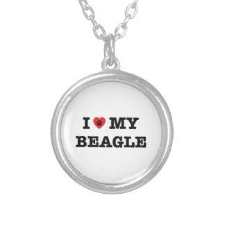 I Heart My Beagle Necklace