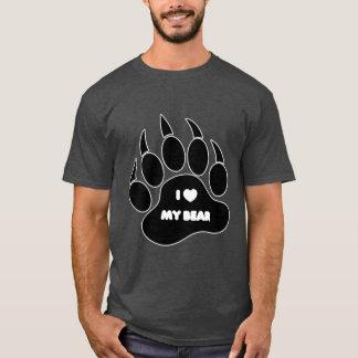 I Heart My Bear In Bear Paw T-Shirt
