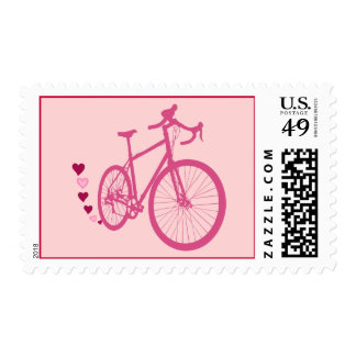 I [heart] my bicycle stamp