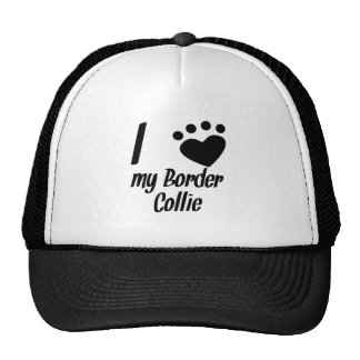 I Heart My Border Collie Trucker Hat