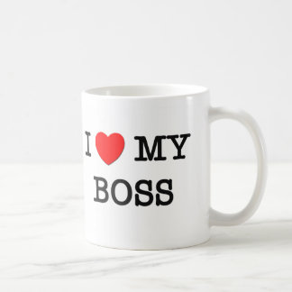 I Heart My BOSS Mug