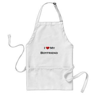 I (heart) my boyfriend Apron