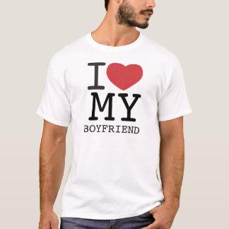 I HEART MY BOYFRIEND customizable T-Shirt