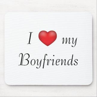 I heart my Boyfriends Mouse Pad