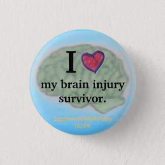 I [heart] my brain injury survivor button