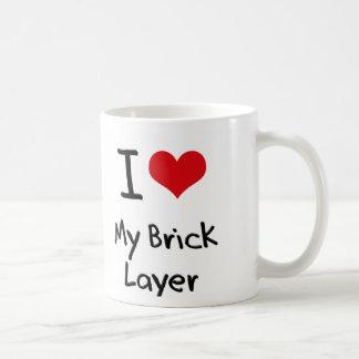 I heart My Brick Layer Mug