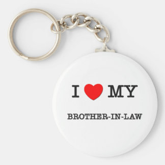 I Heart My BROTHER-IN-LAW Key Chains