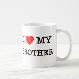 I Heart My BROTHER Coffee Mug
