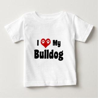 I Heart My Bulldog Tee Shirt