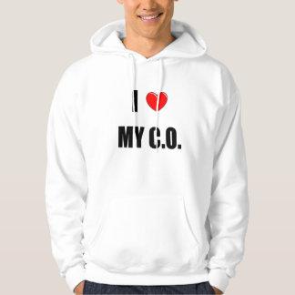 """I """"heart"""" My C.O. Hoodie"""