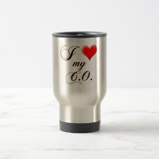 "I ""heart"" My C.O. Mug"
